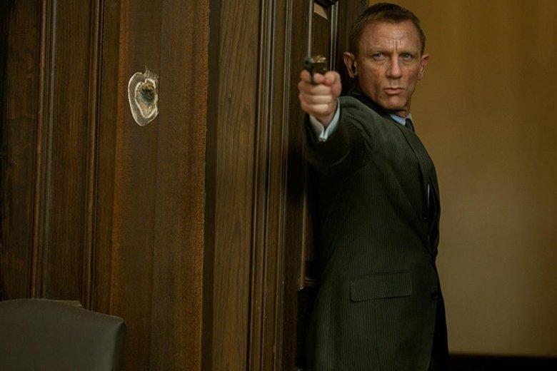 """Daniel Craig w najnowszym filmie o Jamesie Bondzie """"Skyfall"""""""