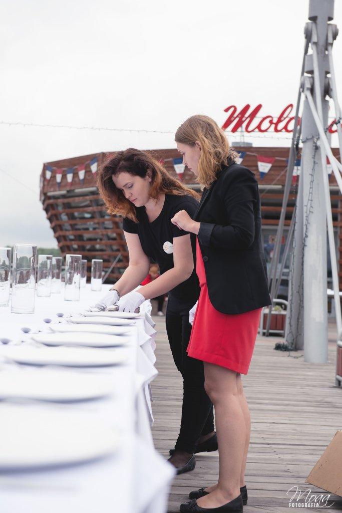Przygotowania do scen weselnych w Płocku
