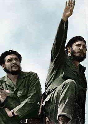 Che Guevara i Fidel Castro w 1961 r.