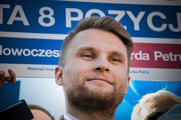 Krzysztof Truskolaski, poseł Nowoczesnej.