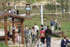 Na razie nie wiadomo, jaka była przyczyna upadku mężczyzny w rejonie rezerwatu GEOsfera w Jaworznie.
