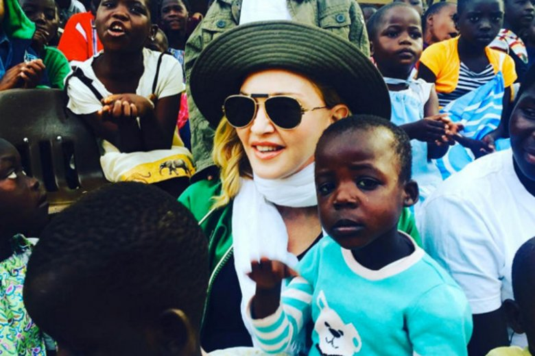 Madonna chwali się na Instagramie zdjęciami z Afryki.