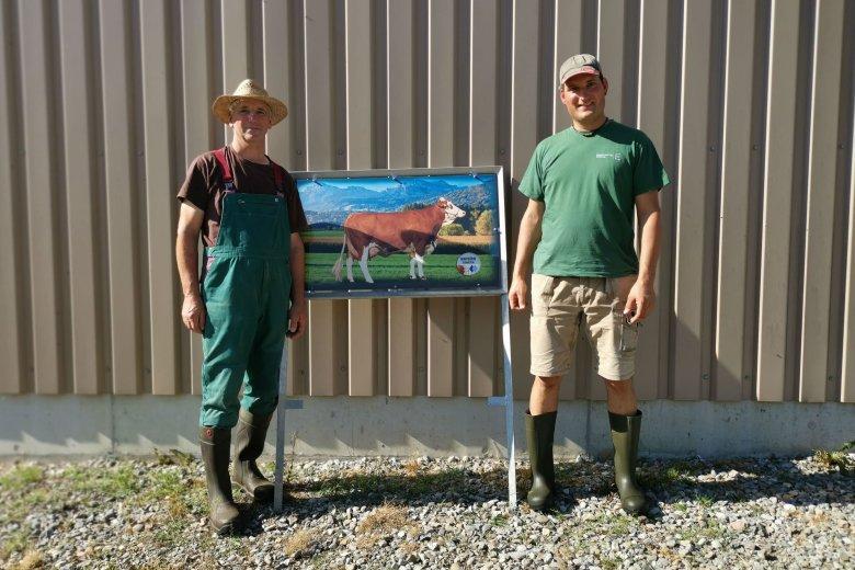 Dwa pokolenia goszczącej nas rodziny farmerów