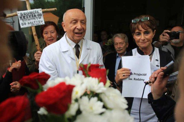 Protest w sprawie prof. Chazana zorganizowany 14 czerwca.