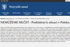 Działania PiS przeciwko sądom w Polsce stanowczo potępiono właśnie w Pradze. Pod oświadczeniem w tej sprawie podpisali się prezesi czeskiego Trybunału Konstytucyjnego, Sądu Najwyższego, Naczelnego Sądu Administracyjnego, Prokurator Generalny oraz Rzecznik