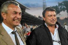 Andrzej Biernat i Roman Kosecki w 2010 roku. Teraz obydwaj politycy są kontrolowani przez CBA