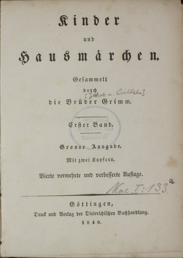 Pierwsze wydania baśni braci Grimm były dużo bardziej brutalne, niżte, które znamy teraz