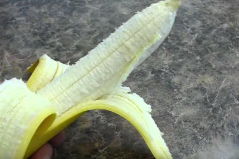 Czy nitki z bananów mogą odurzyć?