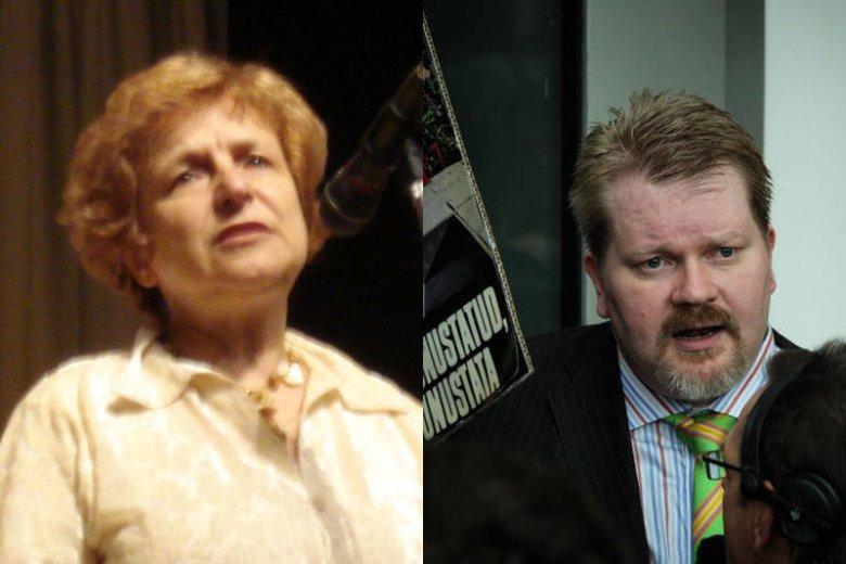 Tatiana Żdanok i Johan Bäckman – obserwatorzy referendum na Krymie.