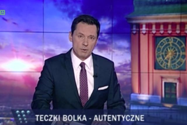 """Ziemiec podał nieprawdę w """"Wiadomościach"""". Ogłosił autentyczność teczek znalezionych w domu Kiszczaka"""