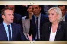 Macron vs. Le Pen.