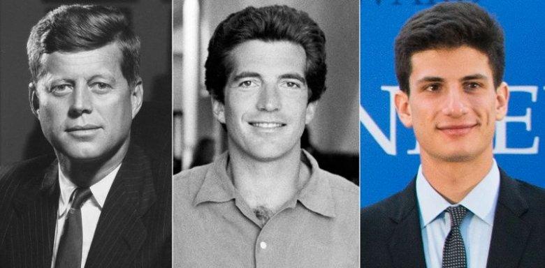 Od lewej: John F. Kennedy, JFK Jr., Jack Kennedy Schlossberg.