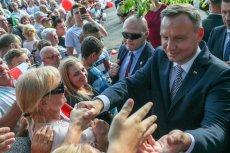 Prezydent Andrzej Duda z wizytą w Zgorzelcu. Tu padły słowa o zakładzie w Pieńsku.