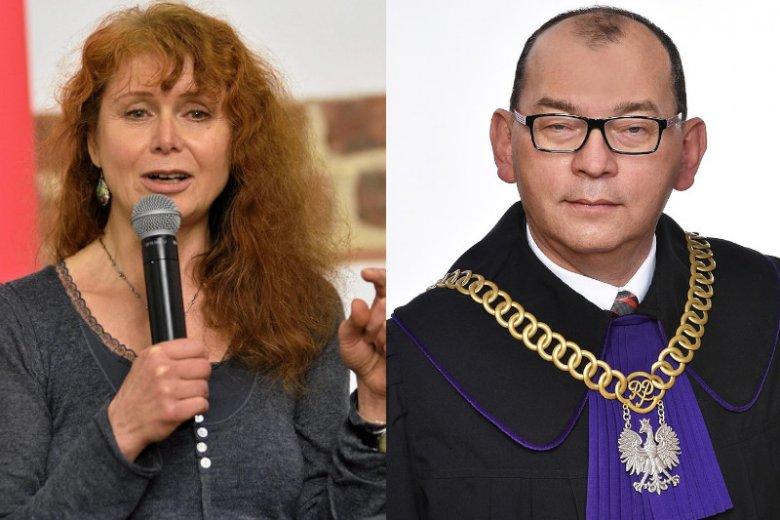 """Dziennikarka """"Polityki"""" Ewa Siedlecka została oskarżona z artykułu 212 kodeksu karnego."""