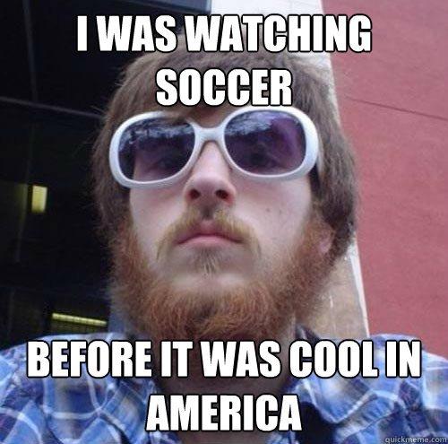 Oglądanie piłki w Stanach, choć coraz bardziej popularne, jest ciągle rozrywką niszową i wielkomiejską.