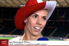 Iga Baumgart-Witan to jedna z czterech Polek, które zdobyły złoty medal w sztafecie na Lekkoatletycznych Mistrzostwach Europy w Berlinie