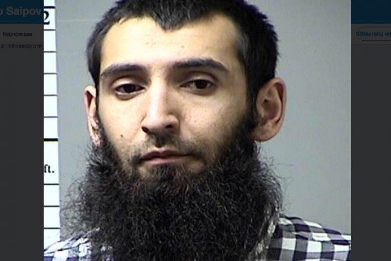 Uzbek Sayfullo Saipov, 29-letni sprawca zamachu w Nowym Jorku.