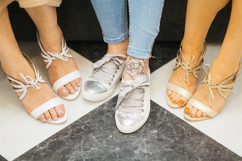 Ślubne buty nie tylko na ślub.