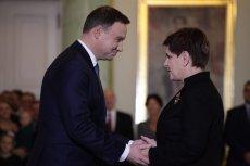 Andrzej Duda i Beata Szydło sączęsto krytykowani, ale w gorszej sytuacji chyba jest premier.