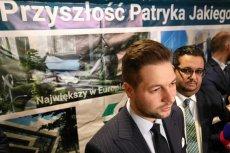 Warszawa, wybory samorządowe: Patryk Jaki tłumaczy, dlaczego na jego plakatach nie ma logo PiS.
