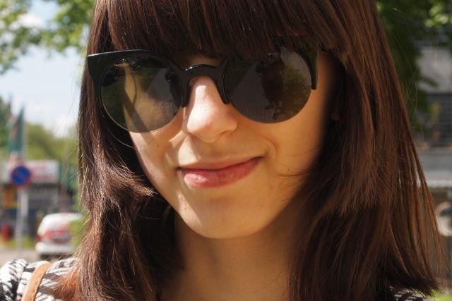 Na zdjęciu: Zuza, licealistka