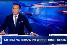 Wiadomości TVP próbowały nieudolnie wyśmiać Kingę Rusin po jej zdjęciu z Adele.