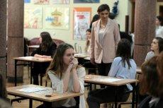 Ministerstwo edukacji przestawiło projekt rozporządzenia w sprawie egzaminów dla ósmej klasy podstawówki.
