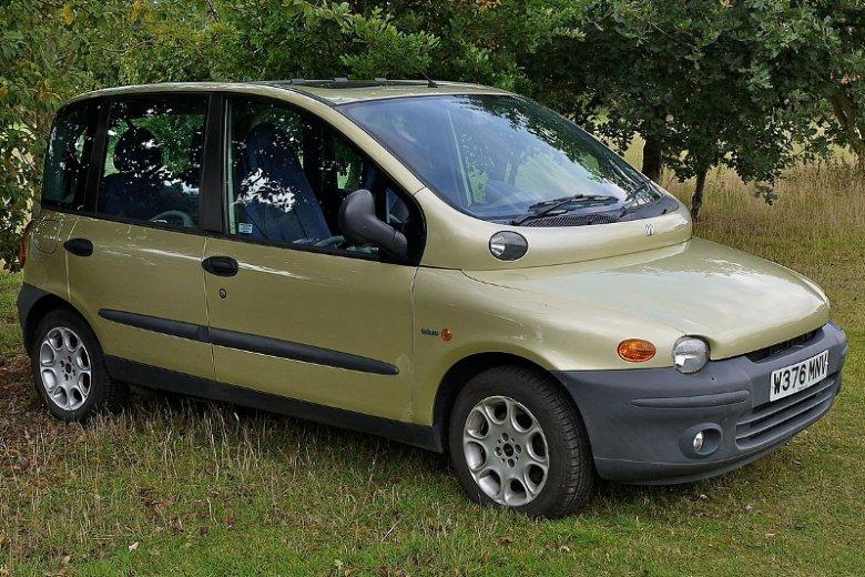 Fiat Multipla to dla wielu najbrzydsze auto w historii