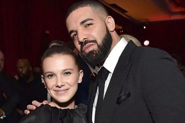 Millie Bobby Brown i Drake'a łączy zażyła relacja