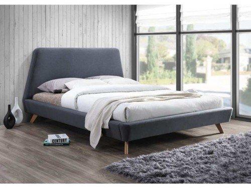 Neutralna sypialnia. Minimalistycznie, ale przytulnie.