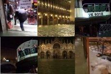 Powódź w Wenecji.