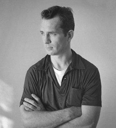 Jack Kerouac w 1956 roku. Autorem fotografii był Tom Palumbo
