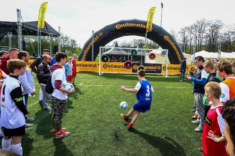 Głównym sponsorem wydarzenia, którego bohaterami są dzieci z domów dziecka, jest polski oddział Continental, producenta opon