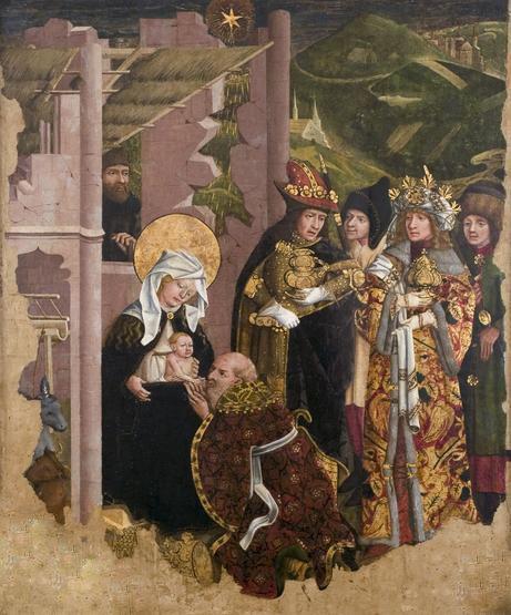 Mikołaj Haberschrack, Poliptyk augustiański, ok. 1468, Muzeum Narodowe w Krakowie. Pałac Erazma Ciołka
