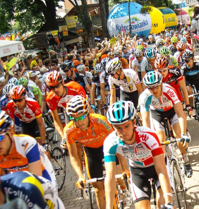 Start etapu Tour de Pologne, Zakopane 2011