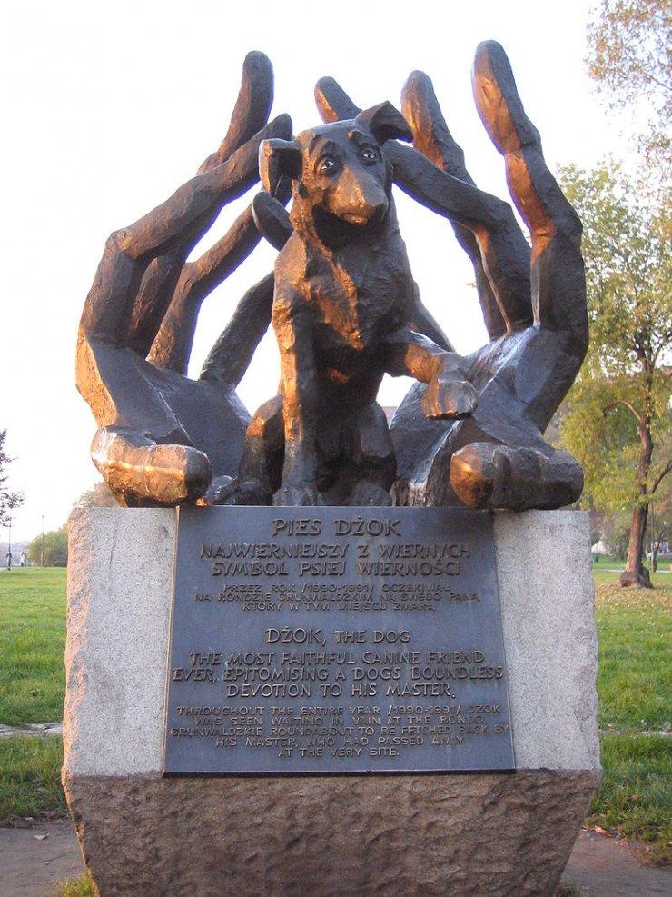 Pomnik psa Dżoka w Krakowie