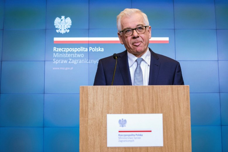 Minister Czaputowicz w przypływie szczerości przyznał, że Polska łamie zasady praworządności.