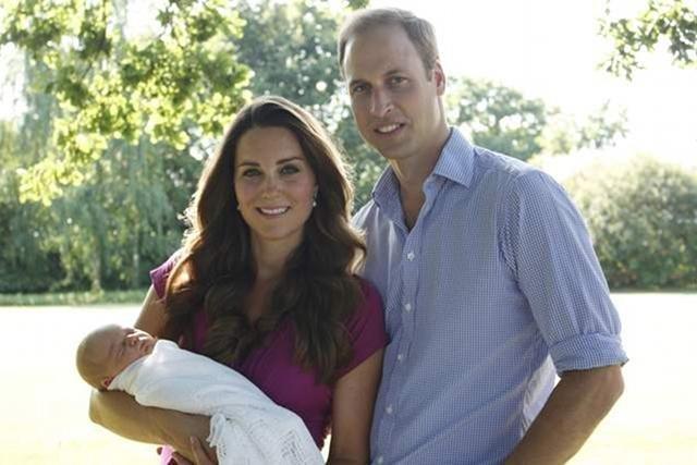 Pierwsze oficjalne zdjęcie księcia Jerzego.