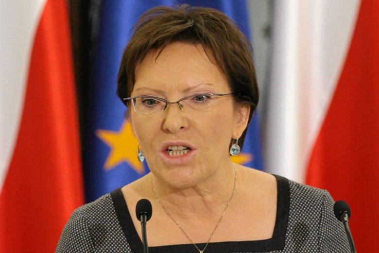 Marszałek Sejmu Ewa Kopacz