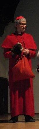 Św. Mikołaj, biskup - Jasełka w Instytucie Psychologii U. Wr., grudzień 2012