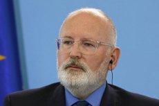 Wiceszef Komisji Europejskiej Frans Timmermans skomentował słowa Andrzeja Dudy o wyimaginowanej wspólnocie.