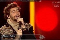 Alvaro Soler był największą gwiazdą sylwestrowej imprezy z telewizyjną Dwójką. Według części widzów także i on śpiewał z playbacku.