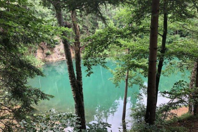 Taki kolor wody kojarzy się raczej z Lazurowym Wybrzeżem niż ze Śląskiem