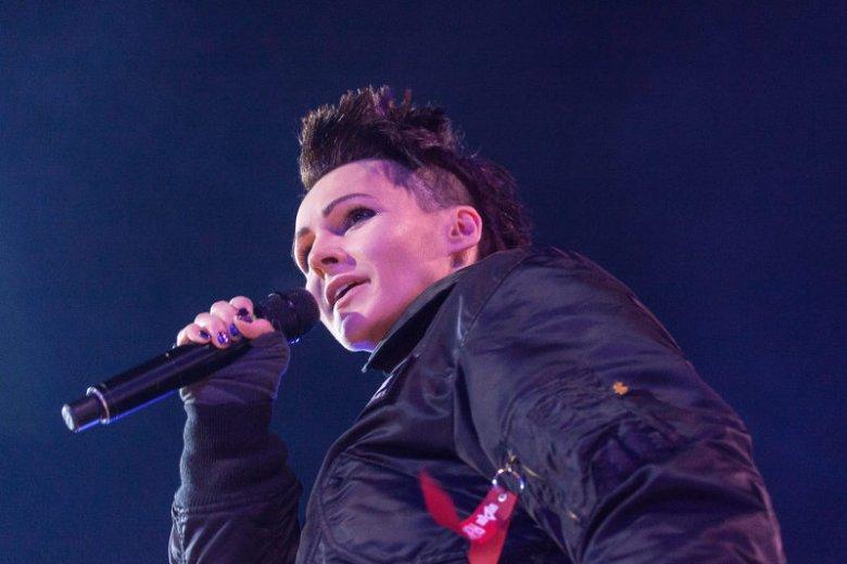 Agnieszka Chylińska wystąpiła na imprezie sylwestrowej TVN