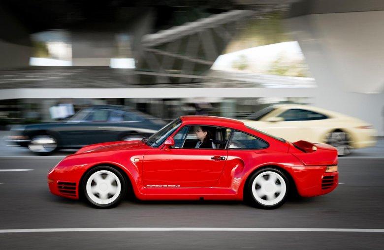 Autor w Porsche 959 Sport