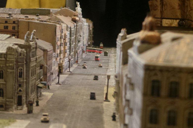 Przedwojenna ulica Królewska