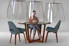 Christophe Gernigon stworzył projekt osłon do restauracji.