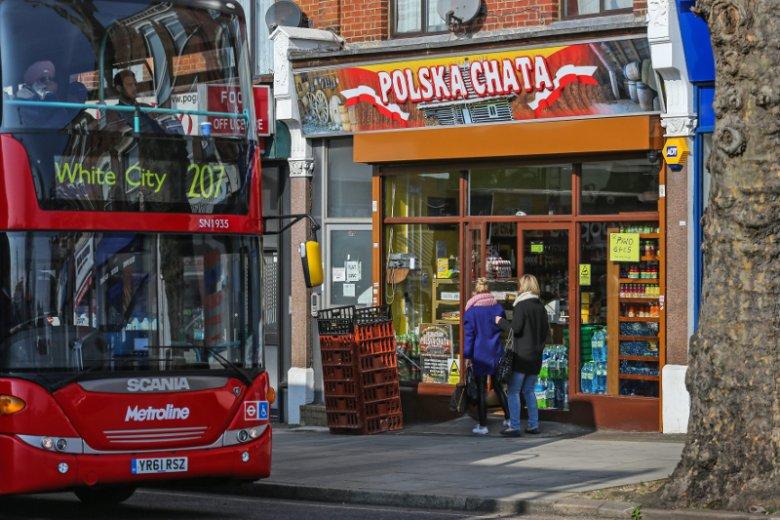 W Londynie jest pełno polskich sklepów