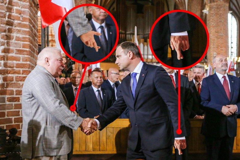 Pojednanie Lecha Wałęsy z Andrzejem Dudąto katolicyzm na pokaz.