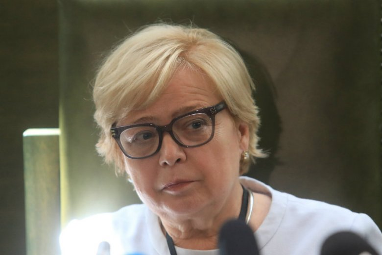 Małgorzata Gersdorf wróciła do pracy w Sądzie Najwyższym po urlopie.
